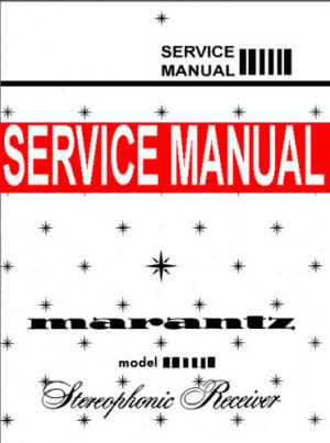 MARANTZ MODEL 18 Receiver - SERVICE MANUAL -