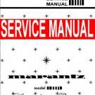 MARANTZ 3300 Stereo Control Console - SERVICE MANUAL -