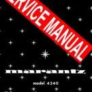 MARANTZ 4240 RECEIVER - SERVICE MANUAL -