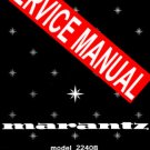 MARANTZ 2240B RECEIVER - SERVICE MANUAL -