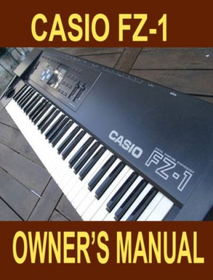 CASIO FZ1 FZ-1 Owner's OP manual