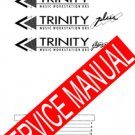 KORG TRINITY SERIES  (/ Plus, Pro) ** SERVICE MANUAL **