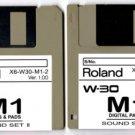 "M1 ""BELLS & Pads"" Sound Set for ROLAND W-30 W30 (2disk)"