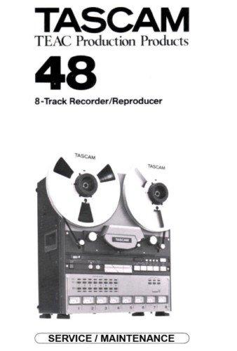 tascam 48 reel repair service manual paper rh ecrater com tascam da-30 service manual tascam 48 service manual