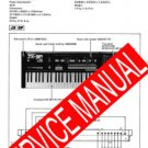 ROLAND JX3P JX-3P / PG-200 PG200 REPAIR /SERVICE MANUAL