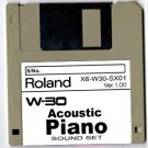 Acoustic Piano ~ Sound Set for ROLAND W-30 W30
