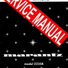 MARANTZ 2238 RECEIVER   SERVICE MANUAL