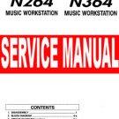 KORG N264 / N364 ( N-264 / N-364)  ~  SERVICE MANUAL  ~