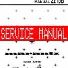 MARANTZ 2215B RECEIVER - SERVICE MANUAL -