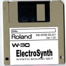 ElectroSynth - Sound Set DISK for ROLAND W-30 W30