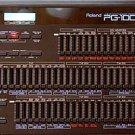 ROLAND PG-1000 PG1000 - REPAIR / SERVICE MANUAL