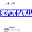 KORG  iX-300 / iX300  KEYBOARD  REPAIR / SERVICE MANUAL
