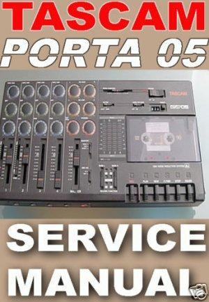 TASCAM PORTA 05  / 5 * REPAIR / SERVICE MANUAL