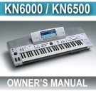 TECHNICS KK6000 sxKN-6000  Owners Instructions MANUAL