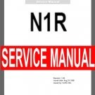 KORG N1R   N1/R   N-1r   ~  SERVICE MANUAL