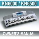 TECHNICS KN6500 (sxKN-6500)  INSTRUCTION OWNERS MANUAL