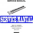 KORG  K61P /  K-61P MIDI KEYBOARD REPAIR SERVICE MANUAL