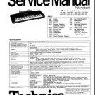 TECHNICS SX-KN1500 (KN1500) REPAIR / SERVICE MANUAL