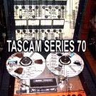 TASCAM SERIES 70 REEL  REPAIR / SERVICE MANUAL