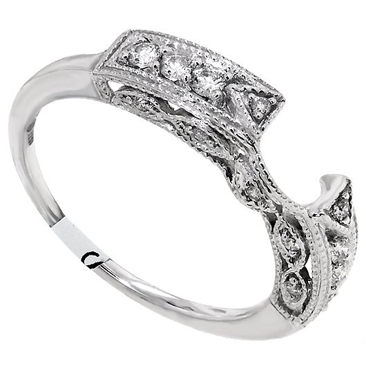 Image Result For Wedding Bands That Wrap Around En Ement Ring