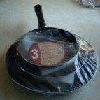 Set of three frying pans