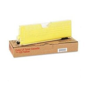 Ricoh - Color LP Toner Cassette Type 125 Yellow 400981
