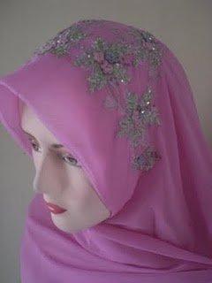 Embroided Hijab