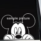 "Mickey Mouse Watching Decal Sticker 9""L x 10""W"