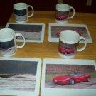 Personalized photo coffee mug and matching mouse pad