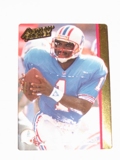 1992 Action Packed Houston Oilers Team Set