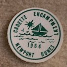 1964 Cadette Encampment Newport Dunes Patch New Condition