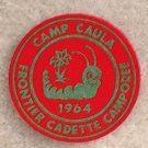 1964 Camp Caula Frontier Cadette CAMPREE Patch New Condition
