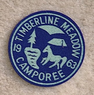 Lot 10, 1963 Timberline Meadow CAMPOREE Patch New Condition