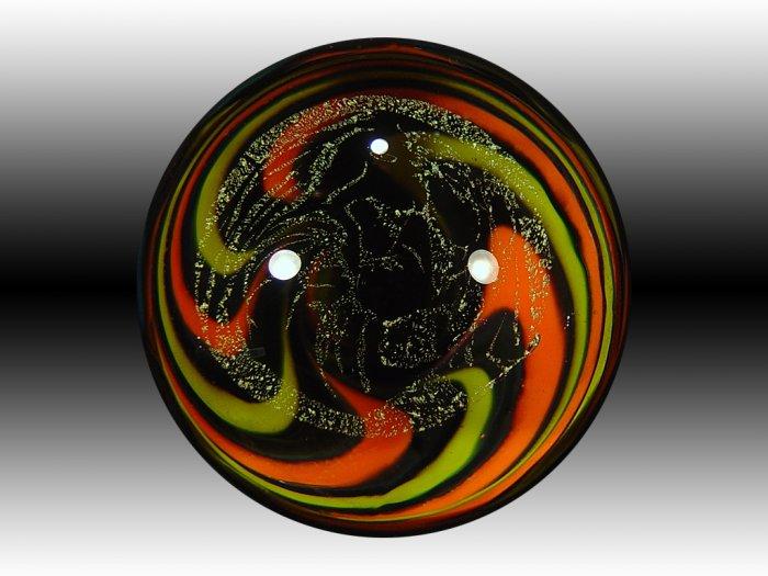 Vortex with Bob Marley etched dichro