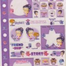 Index Stickers Purple