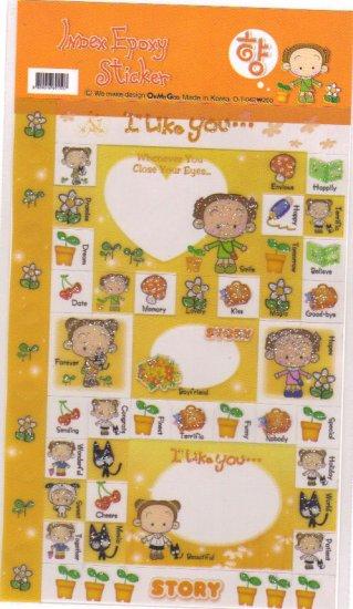 Index Stickers Yellow