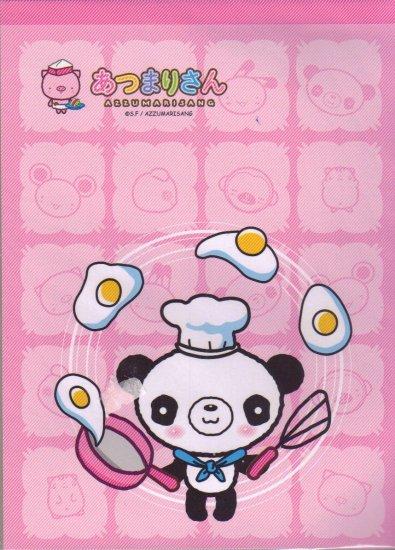 Pink Panda Letter Pad