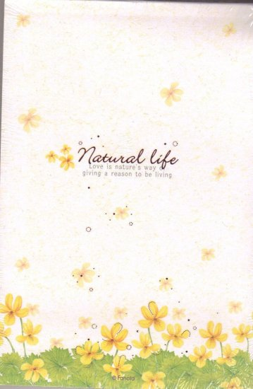 Nature Life letter pad
