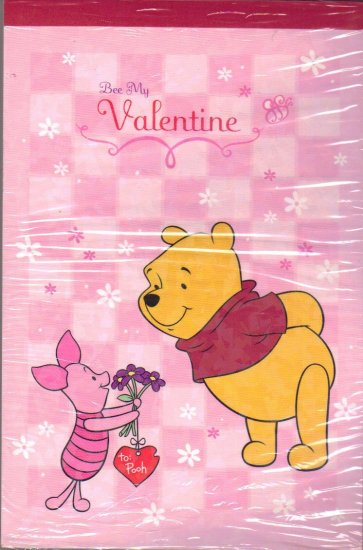 Pooh Letter Pad