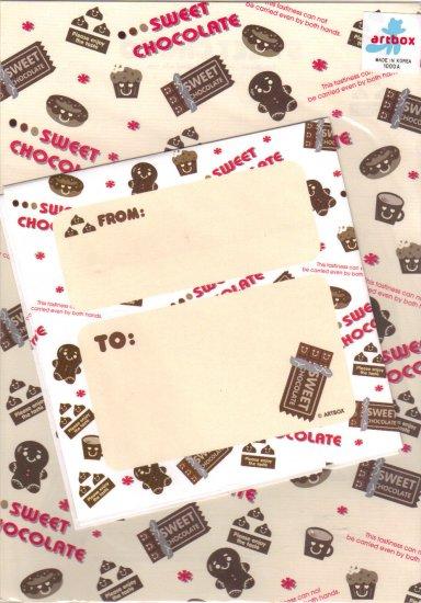Art Box Sweet chocolate letter set