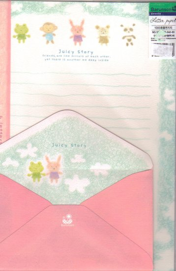 Barunson Juicy Story Letter Set