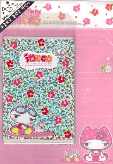 Ineco pink letter set