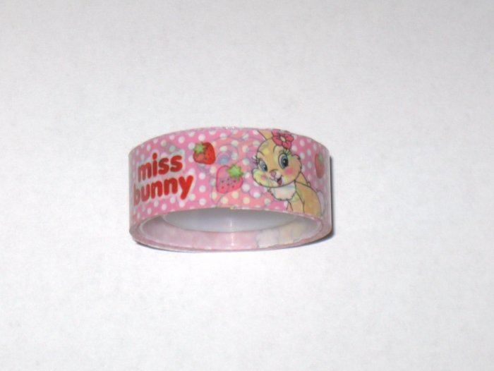 Miss Bunny Pink deco tape