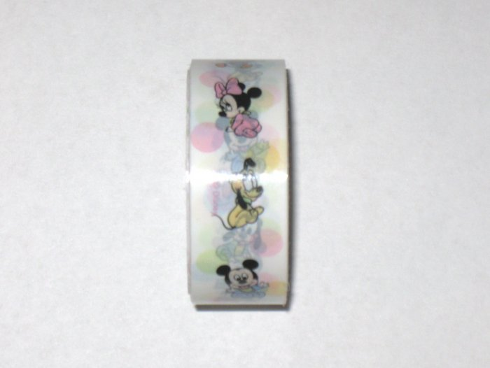 1 Disney white deco tape