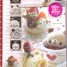 Kamio Cafe Bear Small letter set