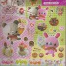 Kamio Cafe Cafe letter set
