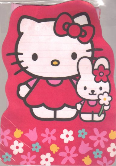 Hello Kitty  Red letter set