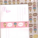 Ice Cream letter set