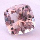 Huge Morganite Cushion