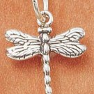 STERLING SILVER SMALL DRAGONFLY CHARM